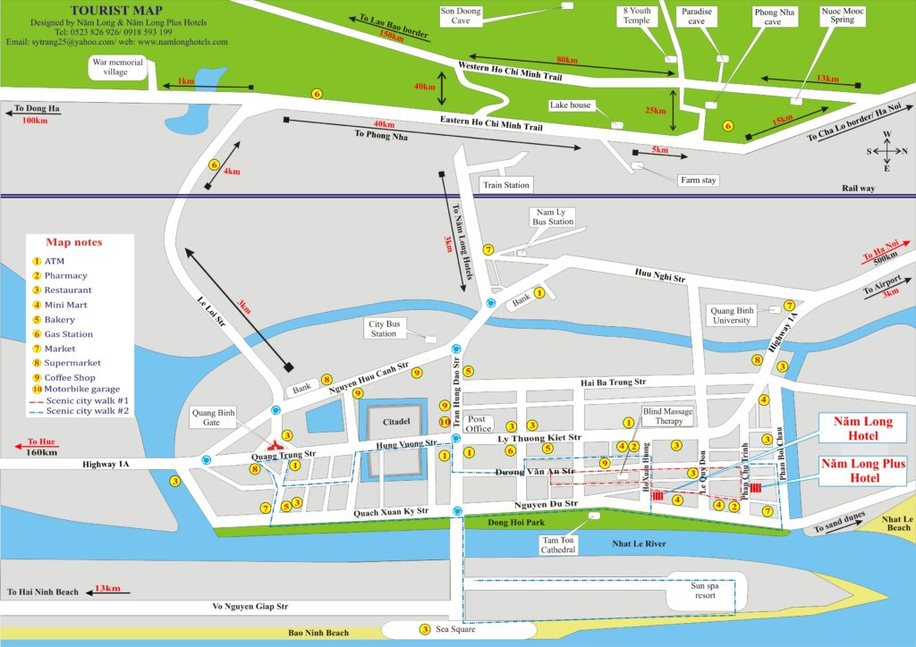 City Walk Tour Map