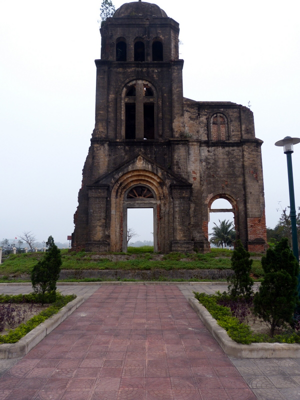 Tam Toa Cathedral Ruins