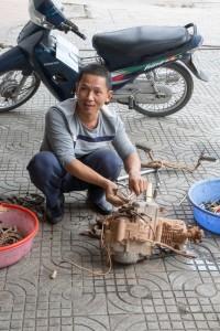 Motorbike repair
