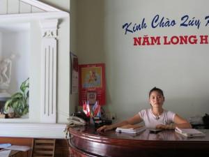 Nam Long Hotel front desk