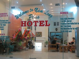 Nam Long Plus entrance