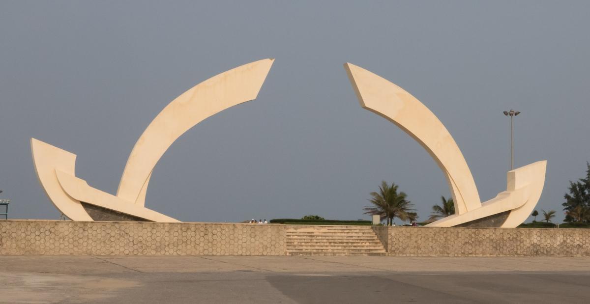 Bao Dinh beach monument