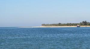 Bao Ninh beachacross the channel