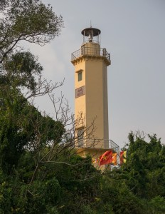 lighthouse atop Great Wall of Vietnam