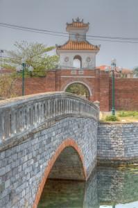 Bridge across citadel moat